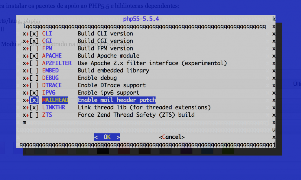 Build Apache Module 5.3