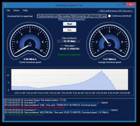 Testando download de arquivos grandes em ambiente local ou remoto (servidor) e teste de conexão
