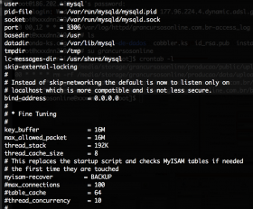 Habilitar o SGBD MySQL para aceitar conexões externas em instâncias EC2 da Amazon no Ubuntu 14.04