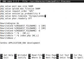 Aumentar limite em MB (Megabytes) de envio de arquivos (upload) em um servidor web (Apache) por meio do mod_rewrite
