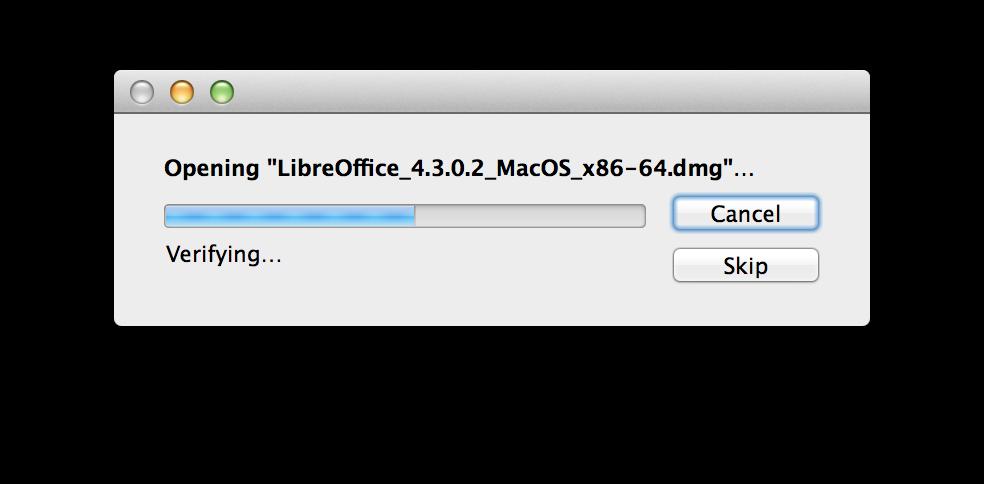 LibreOffice versão 4.3.0 para Mac OS X Mavericks (download): uma alternativa ao Microsoft Office 2011!